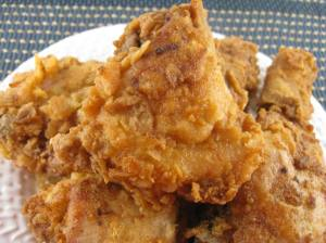 I can't believe how much I miss fried chicken, or just real meat...